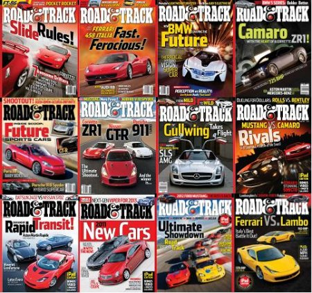 Road and Track Magazine 2010 Full Collection